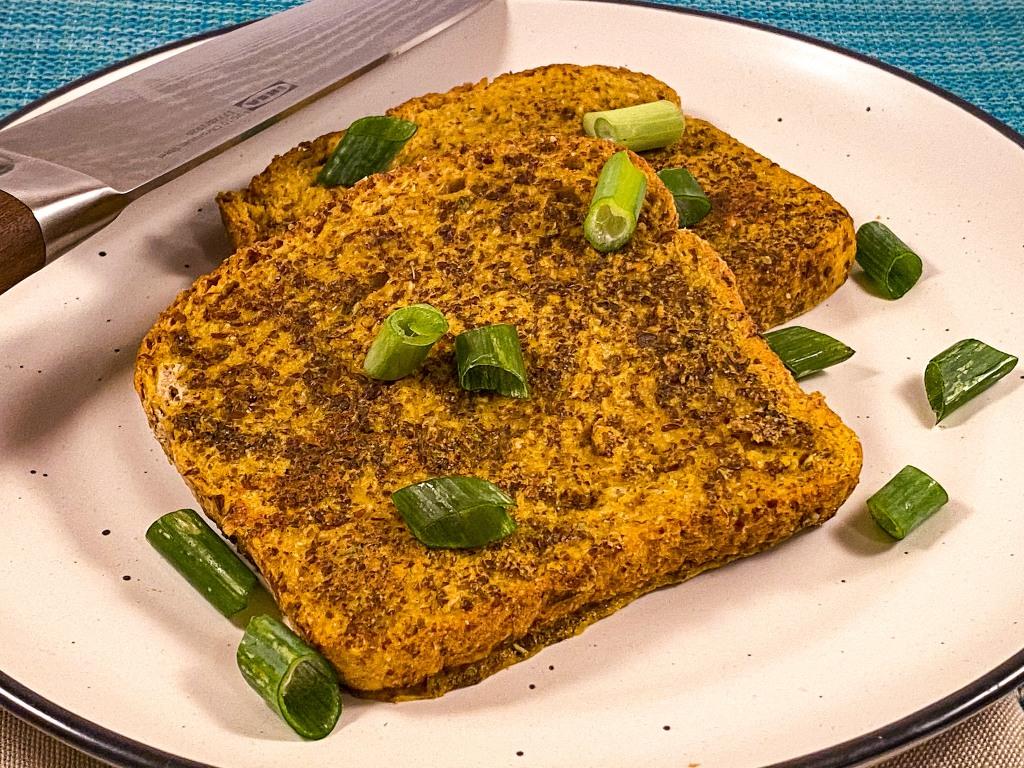 Savoury Vegan French Toast